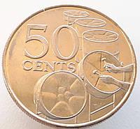 Тринидад и Тобаго 50 центов 2003  UNC