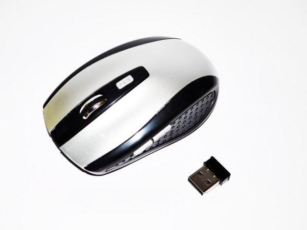Безпровідна оптична мишка миша G 109 Silver