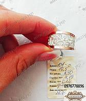 Кольцо из серебра с золотом №101о, фото 1