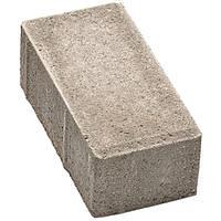 Плитка тротуарная Брусчатка 200x100x60 мм серая N10426411