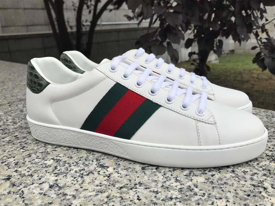 Белые мужские кроссовки Gucci, original quality, цена 4 800 грн ... 7ce92b51b11
