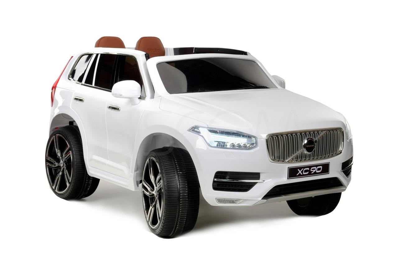 Детский электромобиль Volvo XC90 (белый)
