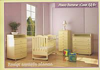 Кроватка детская с ящиком Верес «Соня ЛД-8»