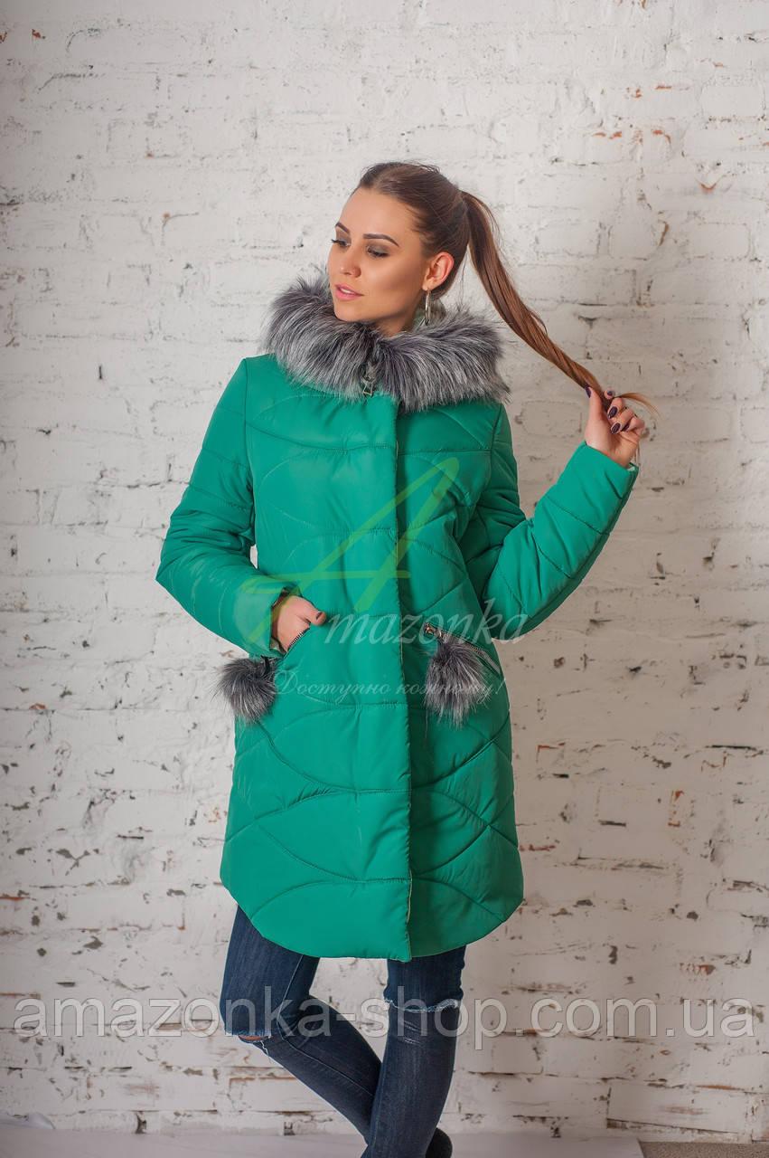 Женское зимнее пальто всех размеров 2017-2018 - (модель кт-151)