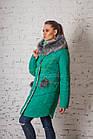 Женское зимнее пальто всех размеров 2017-2018 - (модель кт-151), фото 7