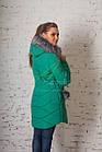 Женское зимнее пальто всех размеров 2017-2018 - (модель кт-151), фото 8