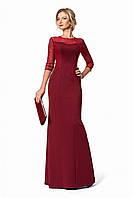 Длинное платье из плотного трикотажа в ассортименте