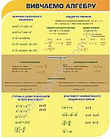 Вивчаємо алгебру 88х110 см