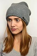 Зимняя шапка модного кроя
