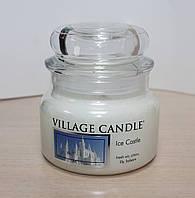 """Ароматическая свеча в стекле Village Candle """"Ледяной замок"""". 315 гр/ 55 часов"""