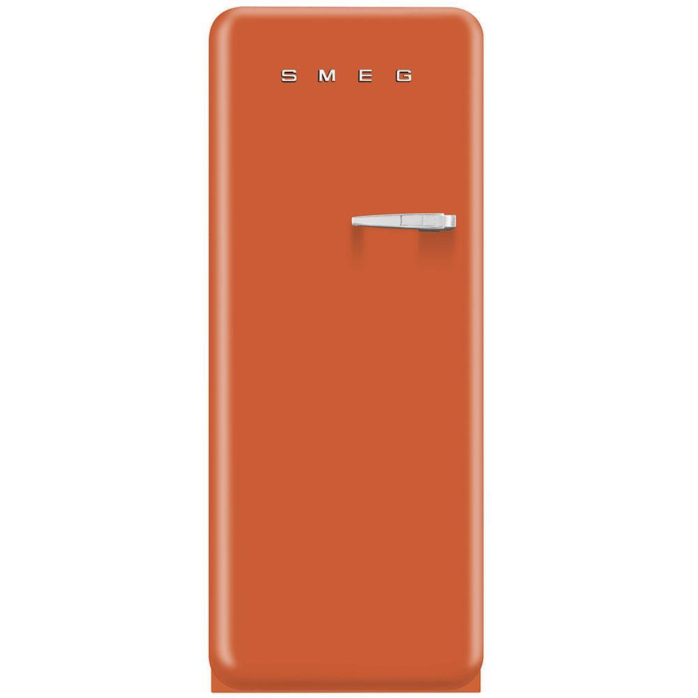 Окремостоячий однодверний холодильник, стиль 50-х років Smeg FAB28LOR3 помаранчевий