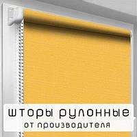 """Рулонна штора """"DecoSharm"""" Льон 858"""