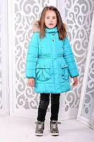 Детская красивая курточка на зиму