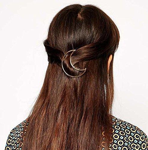 Заколка для волос месяц