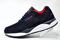 Кроссовкимужские Reebok Classic, замшевые Dark Blue\White\Red