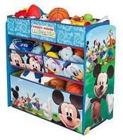 Disney Органайзер для іграшок з ящиками Міккі Маус Children Mickey Mouse Clu, фото 1
