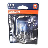 Автолампа Osram Night Breaker Unlimited H3 55 Вт 1 шт N40716453