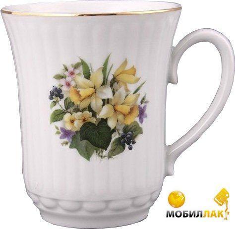 "Lefard кружка ""весенние цветы"" 300 мл. 606-611"