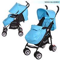 Детская коляска-трость Bambi (M 3458-12) с усиленными колесами, фото 1