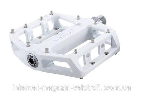 Педали алюминиевые Wellgo B087B white