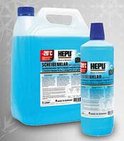 Омыватель стекла зимний HEPU Winter Screenwash -20°C  1 лит.