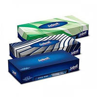 Салфетки гигиенические Selpak в коробке Микс 50 шт (35161100)