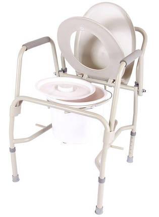 Стілець-туалет з відкидними підлокітниками OSD-RPM-68680D, фото 2