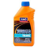 Масло для трансмиссии Yuko Trans 75W-90 1 л N40740097