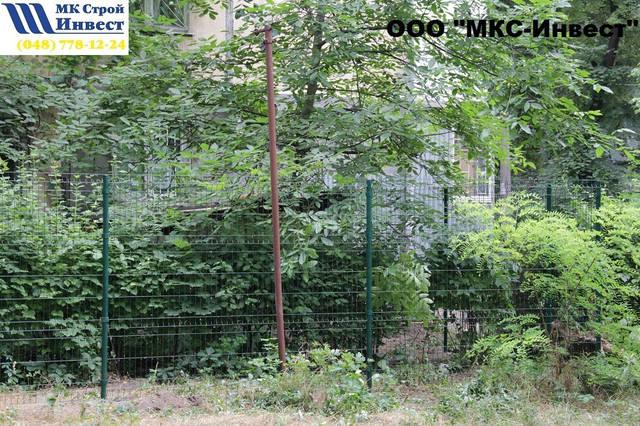 Установка забора Одесса 5