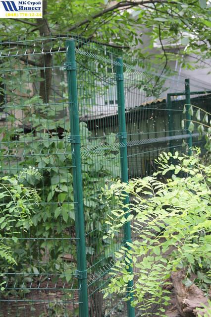 Установка забора Одесса 7