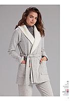 УКОРОЧЕННЫЙ ХАЛАТ теплый, зимний, домашняя одежда CATHERINES 923 тёплый