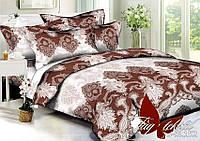 Комплект постельного белья из полисатина евроразмера