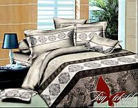 Комплект постельного белья из полисатина евроразмера 200х220 BL9867