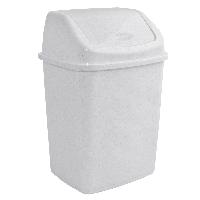 Ведро для мусора 18л с крышкой