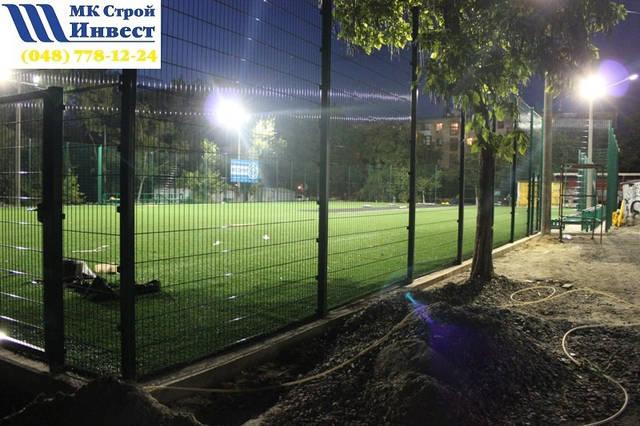 Строительство спорт площадки 26