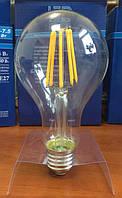 Лампа светодиодная филамент (Filament) A75 E27, 12 Вт.