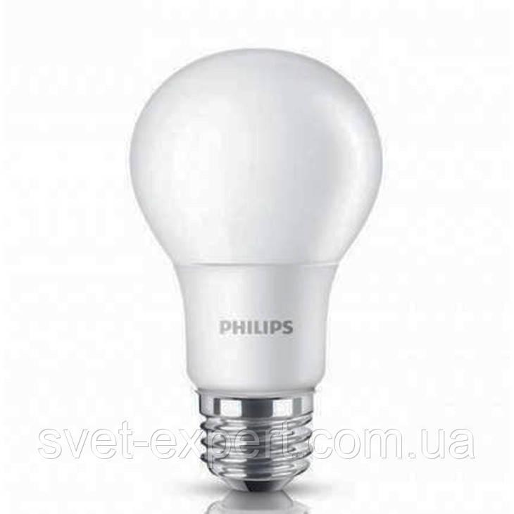 LEDBulb 6-50W E27 6500K 230V A60/PF Philips светодиодная