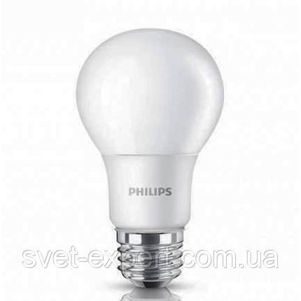 LEDBulb 6-50W E27 6500K 230V A60/PF Philips светодиодная, фото 2