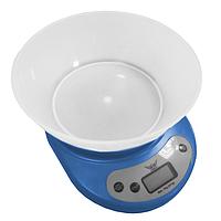 Весы кухонные 5 кг. Defiant  DKS-502B_blue