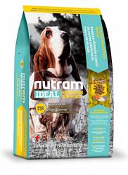 Nutram Ideal Solution Support® Weight Control Dog Food Рецепт с курицей, шлифованной ячменем и горошком 2,72кг
