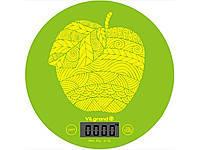 Весы кухонные 5 кг. ViLgrand  VKS-519_Apple