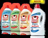 Стиральный порошок жидкий с дезинфекцией Omino Bianco Detersivo + Igienizzante 25 стирок 1,8 л., фото 4