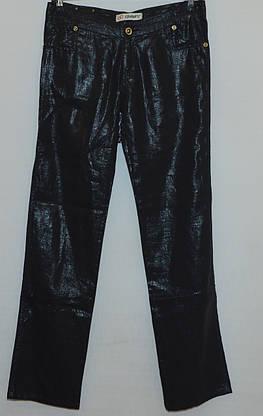 Женские джинсы черные лен полировка ESPARANTO, фото 3