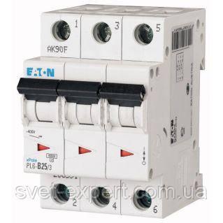 Автоматический выключатель PL6- C25/3 Moeller eaton (Германия)