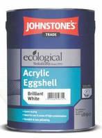 Акриловая краска 5л для стен и потолков Johnstones Acrylic Eggshell, 5л