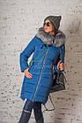 Женское пальто от производителя батальных размеров зима 2017-2018 - (модель кт-170), фото 7