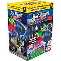 Оригинальная гирлянда Star Shower Motion Laser Light на 12 програм