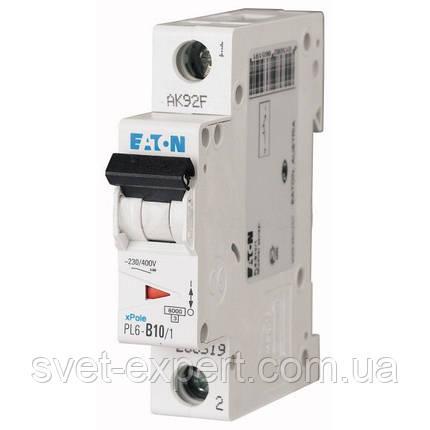Автоматический выключатель PL4- C10/1 Moeller eaton (Германия), фото 2