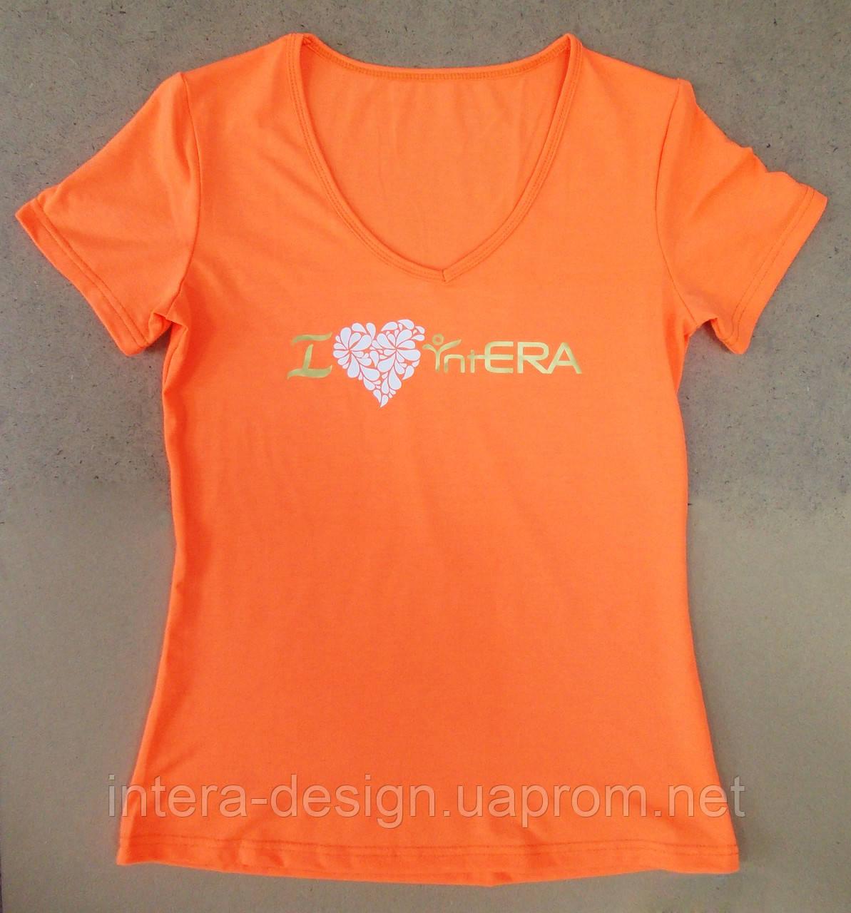 Дизайн футболок интера