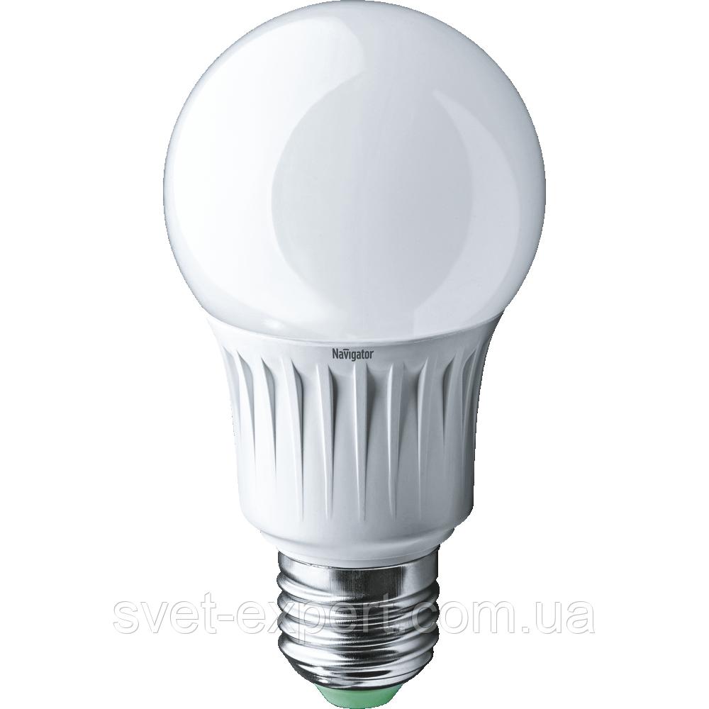 Лампа Navigator 94387 NLL-A60-10-230-2.7K-E27 А60,светодиодная, матовая Е27 10вт